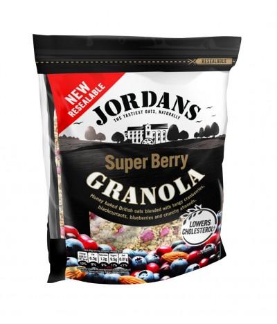 Cereais Granola Super Berry Frutos Vermelhos Jordans