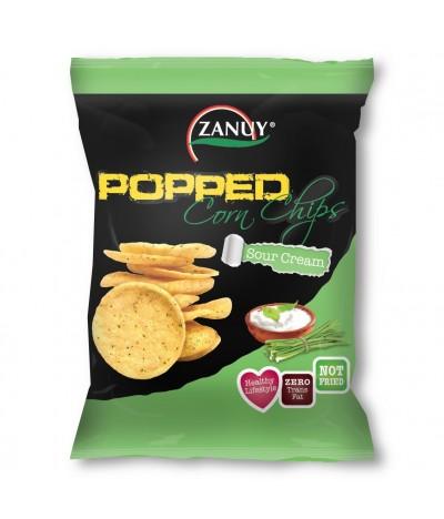 Chips de Milho Sabor Sour Cream Zanuy