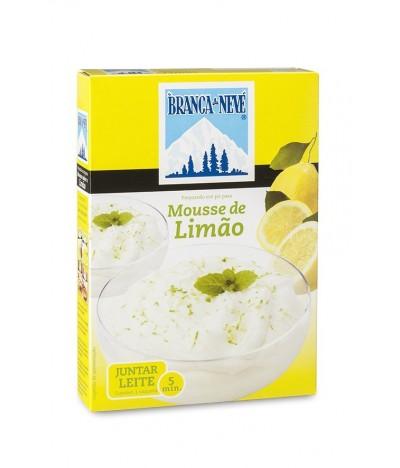 Mousse de Limão Branca de Neve