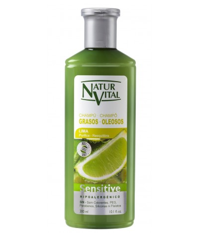 Champô Sensitive para Cabelos Oleosos Natur Vital