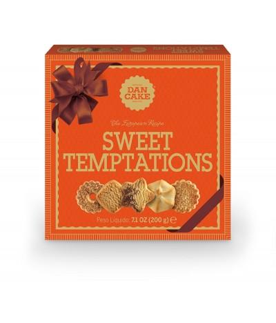 Sortido de bolachas Sweet Temptations Dan Cake