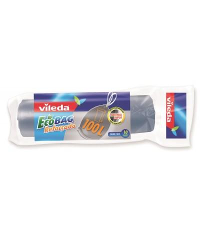 Sacos do Lixo Ecobag Reforçado Vileda 100L