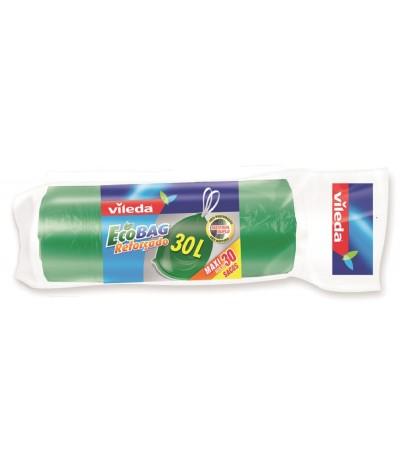 Sacos do Lixo Ecobag Reforçado 30L Maxirolo