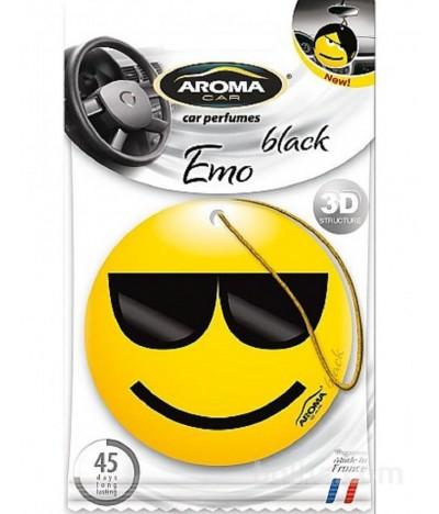 Ambientador Auto Aroma Car Emo Black
