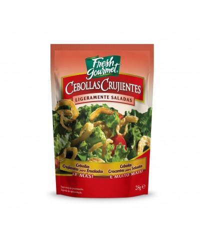 Cebola Crocante para Saladas