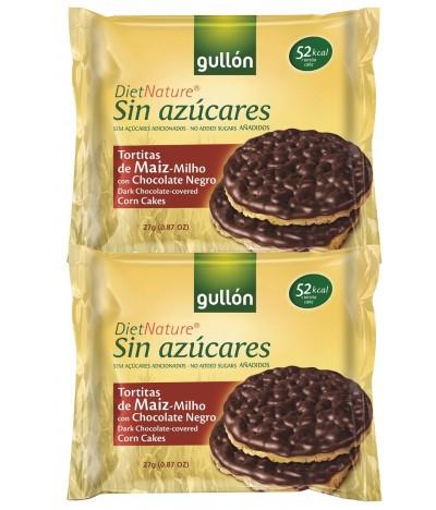 Tortitas de Maíz com Chocolate Diet Nature
