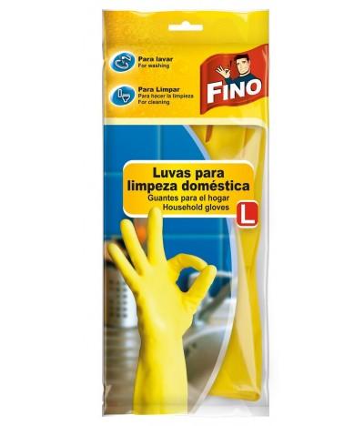 """Fino Luvas Para Limpeza """"L"""""""