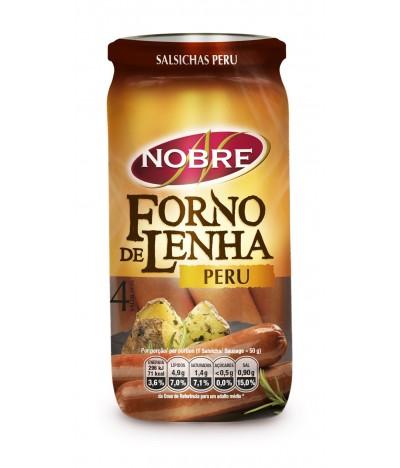 Salsichas de Perú Forno de Lenha