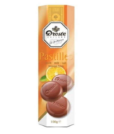 Chocolate de Leite e Laranja Droste 100 gr