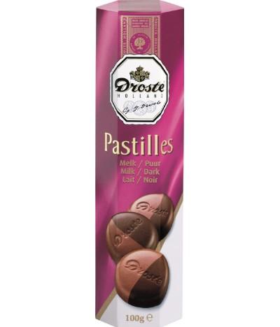 Chocolate de Leite e Chocolate Preto Droste 100 gr