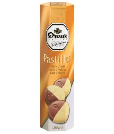Chocolate de Leite e Chocolate Branco Droste 100 gr
