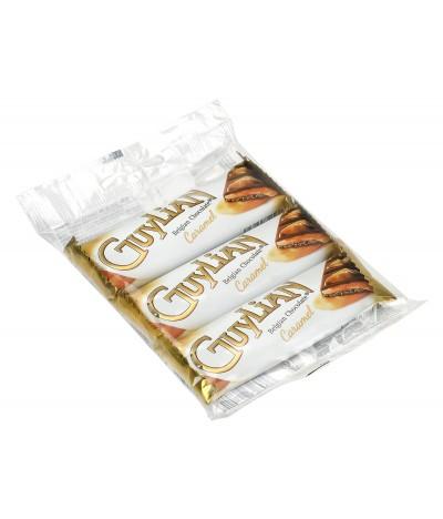 Barritas de Frutos do Mar de Chocolate Belga e Caramelo Guylian