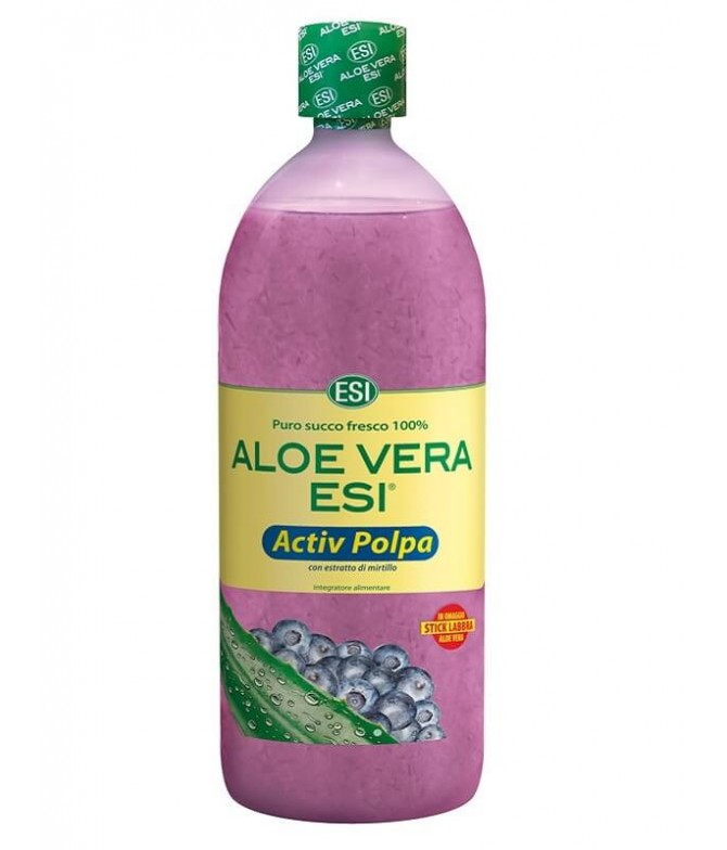 ESI Aloe Vera Jugo Activ Pulpa de Arándano 1L T