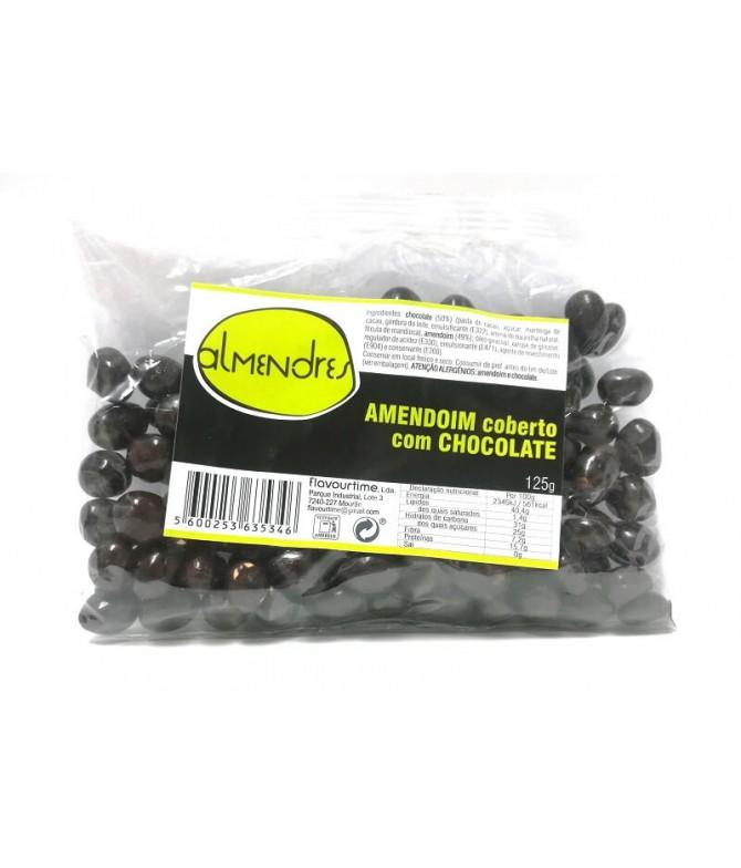 Almendres Amendoim Coberto Chocolate 125gr