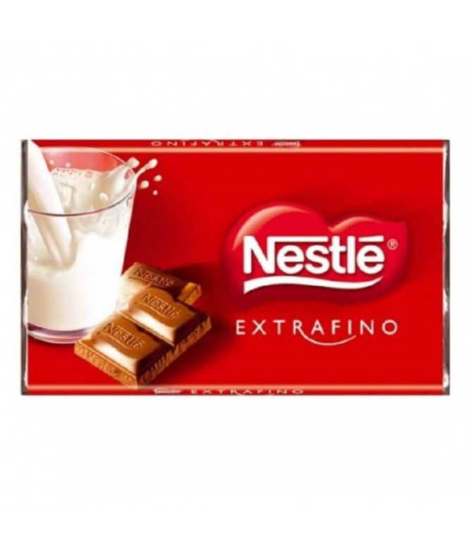 Nestlé Extrafino Chocolate Leche 20gr T