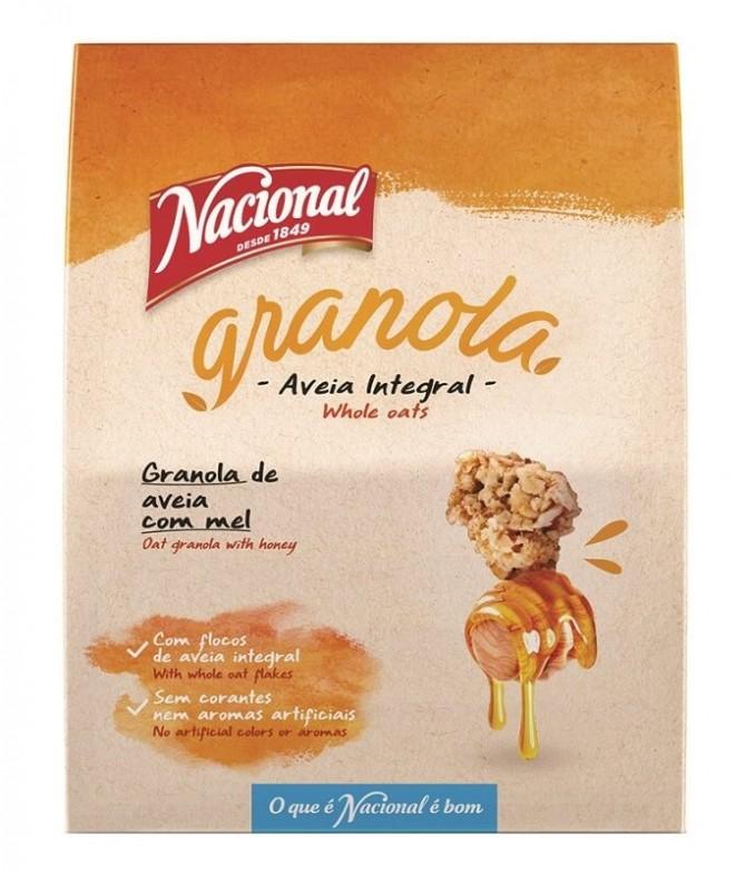 Nacional Granola Aveia & Mel 300gr T