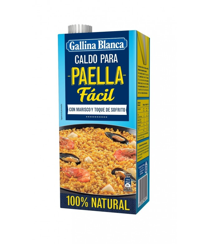 Caldo Casero para Paella Gallina Blanca
