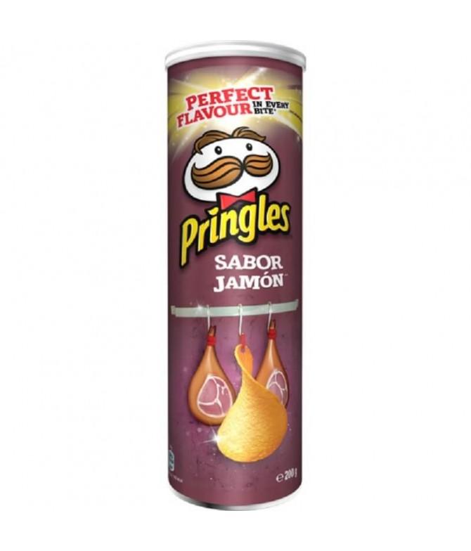 Pringles Batata Fritas Sabor Presunto 200gr