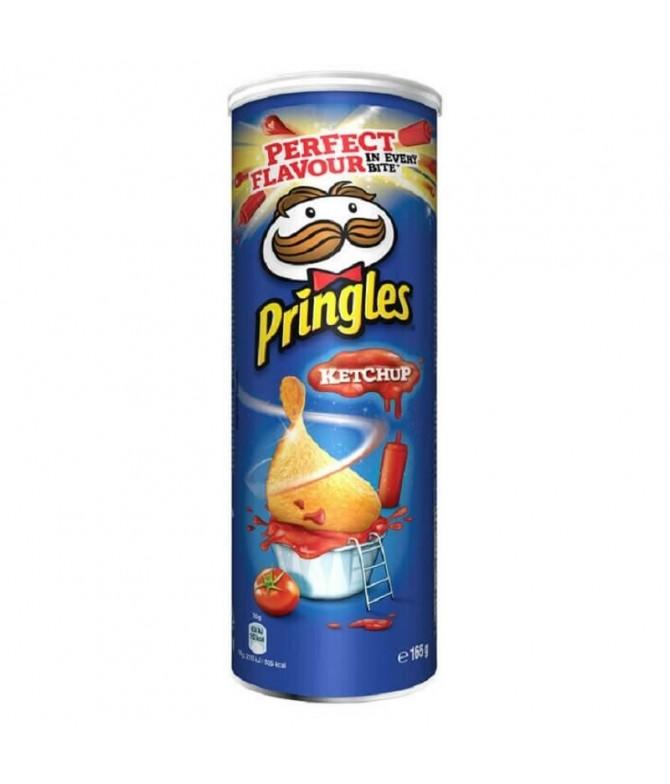 Pringles Batatas Fritas Sabor Ketchup 190gr