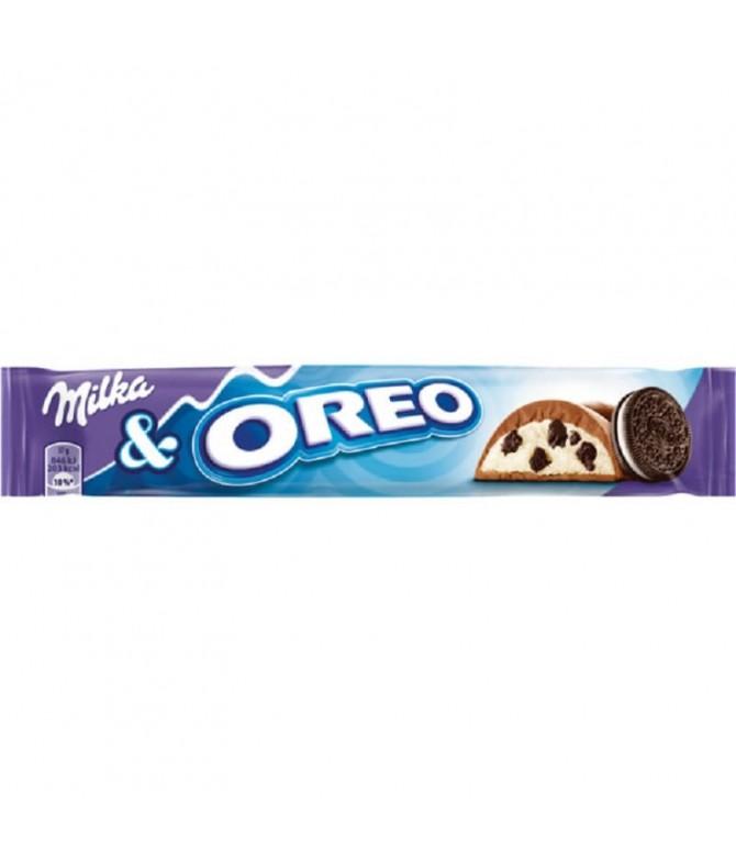 Milka Oreo Chocolate Leite 37gr