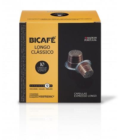 Bicafé Longo Clássico 10 cápsulas