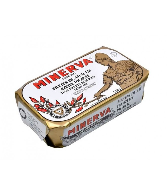 Minerva Filete Atum Azeite & Pickles 120gr