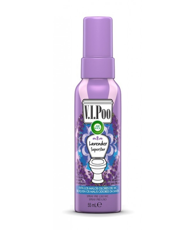 AirWick Spray WC V.I.Poo Lavanda 55ml T