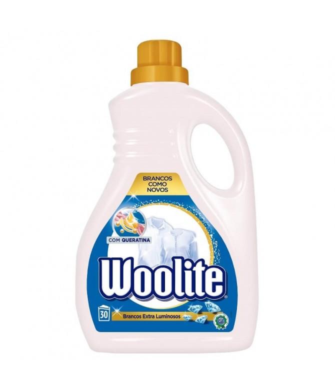 Woolite Detergente Roupa Líquido Branco 30un