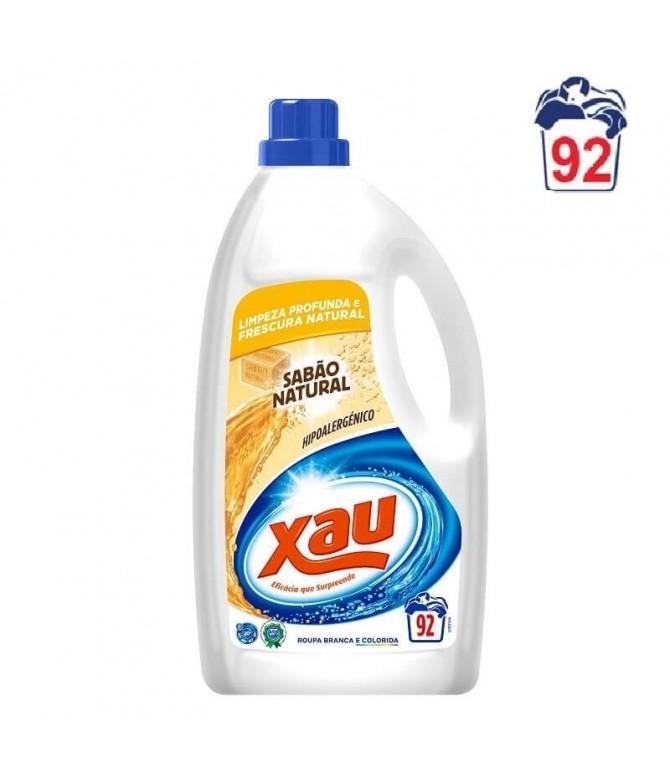 Xau Detergente Líquido Jabón Natural 92un T