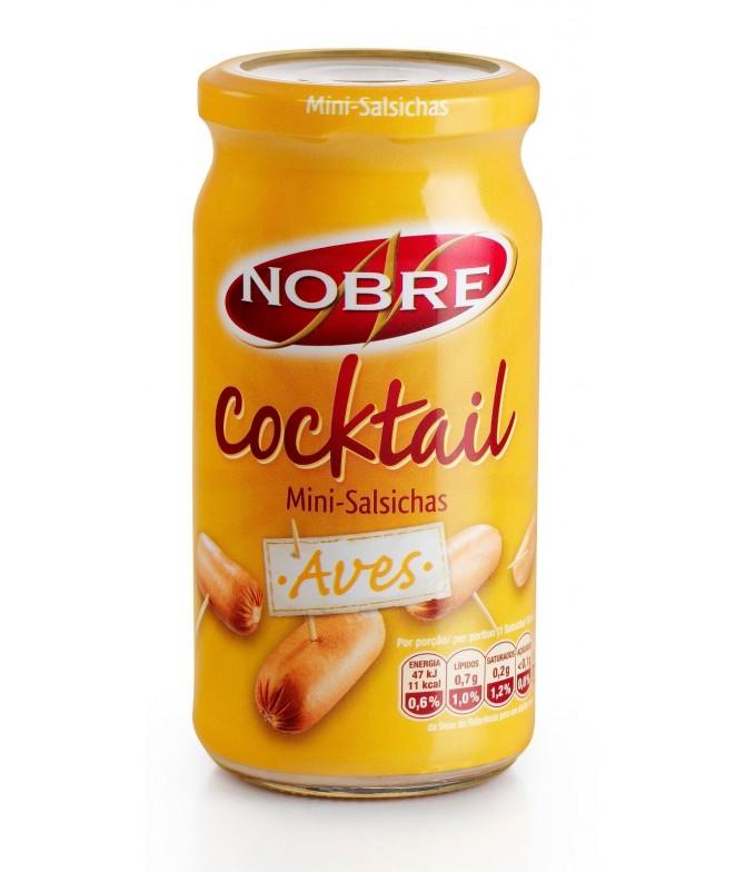 Nobre Salsichas Cocktail Aves 360gr