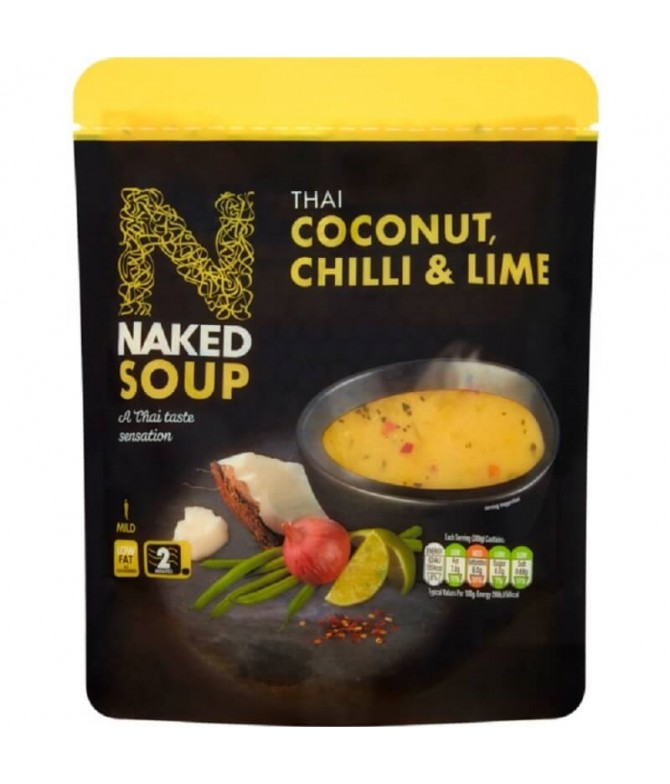 Naked Soup Sopa Thai Coco Chilli Lima 300gr T