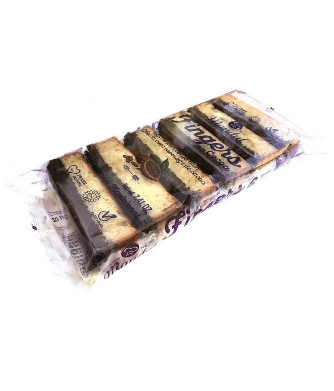 Mandul Bollo Fingers Cacao 210gr T