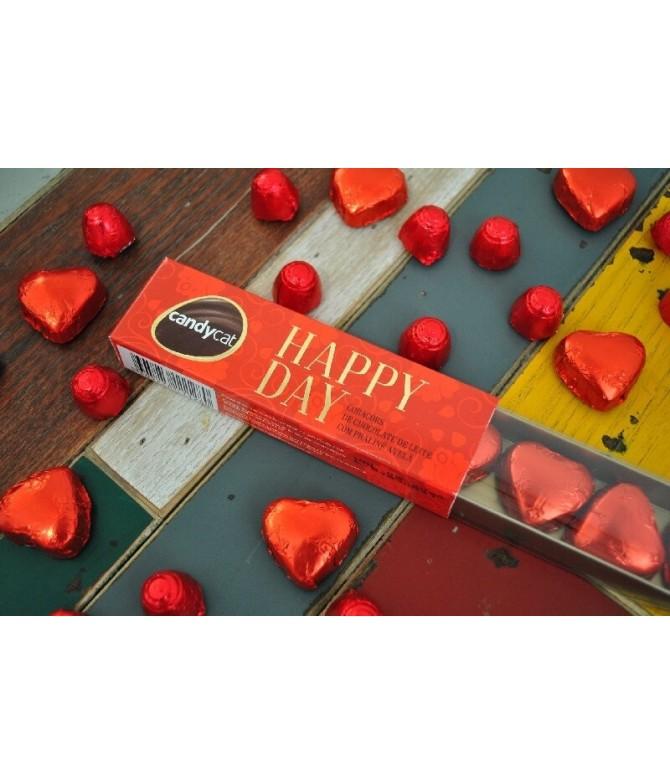 Candycat Happy Day Bombones Corazones 80gr T