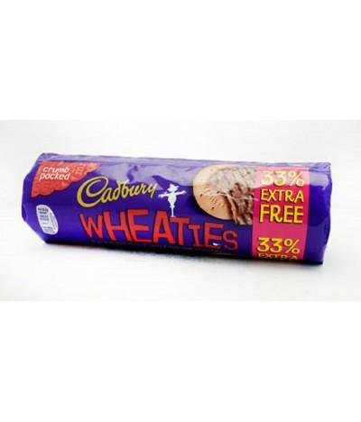 Bolachas Digestivas com Chocolate Wheaties 300gr + 33% Cadbury