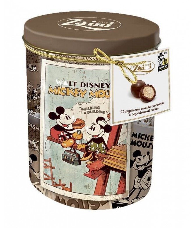 Mickey Mouse Lata Bolas Cereales & Choco 100gr T