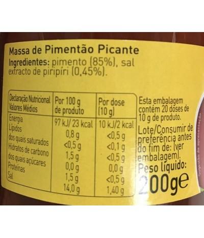 Espiga Pasta Pimentón Picante 200gr T