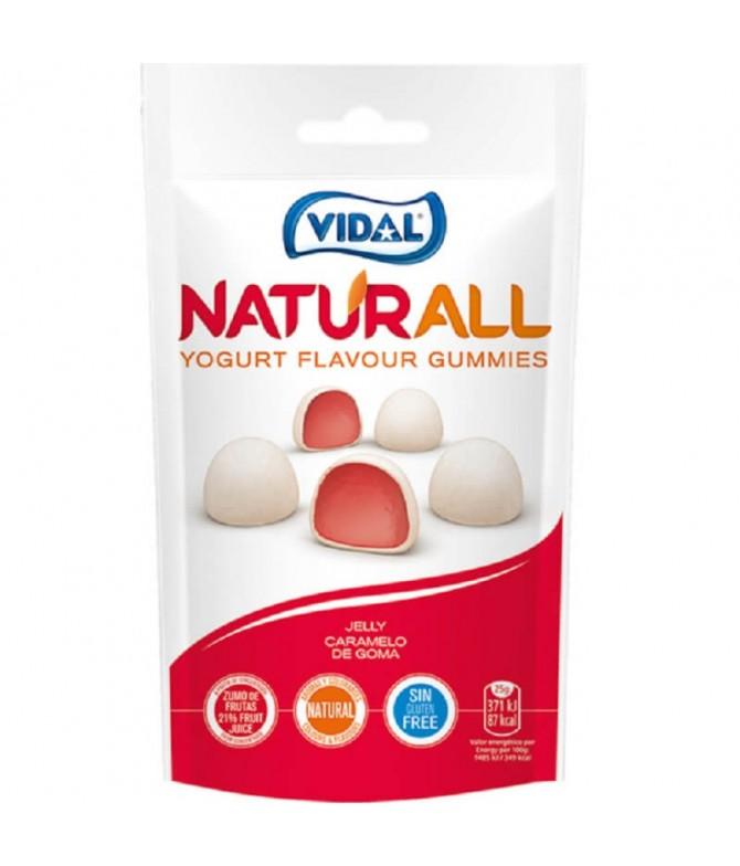 Vidal Naturall Gominolas con Sabor Yogurt 180gr T