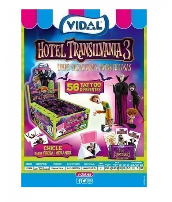 Vidal Pastilha Morango Hotel Transilvânia 3 200un