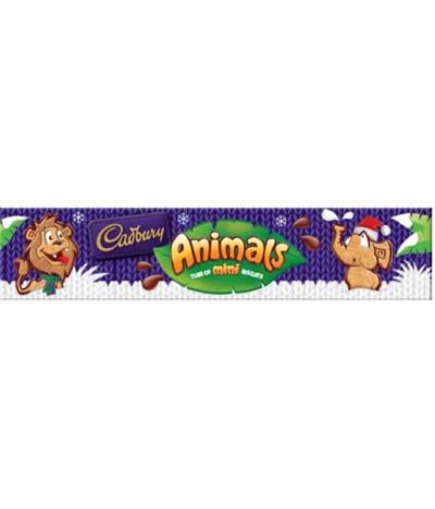 Bolachas com Chocolate Mini Animals 2x55g Cadbury