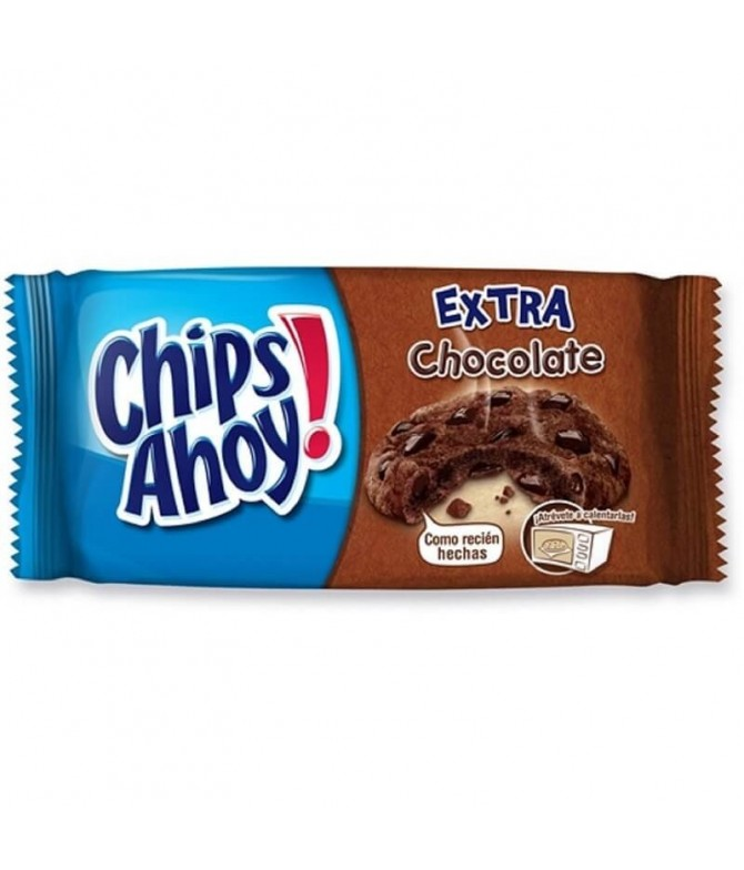 Chips Ahoy Bolacha Extra Chocolate 182gr