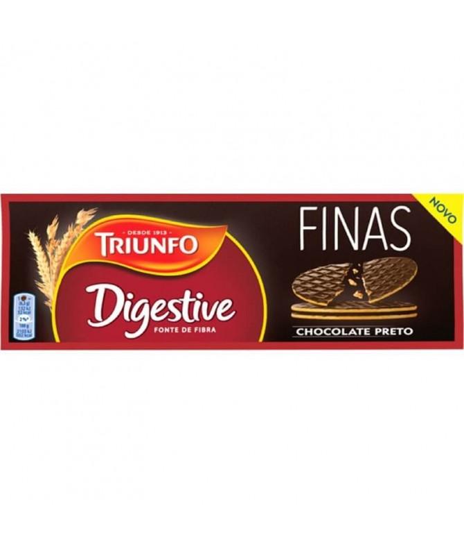 Triunfo Galletas Digestive Finas Choc Negro 170gr T