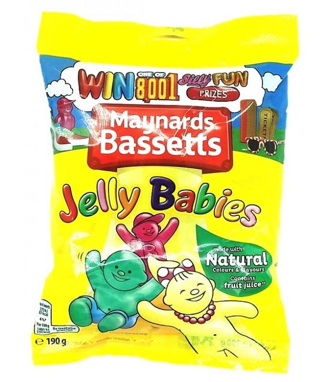 Maynards Bassetts Gomas Jelly Babies 190gr