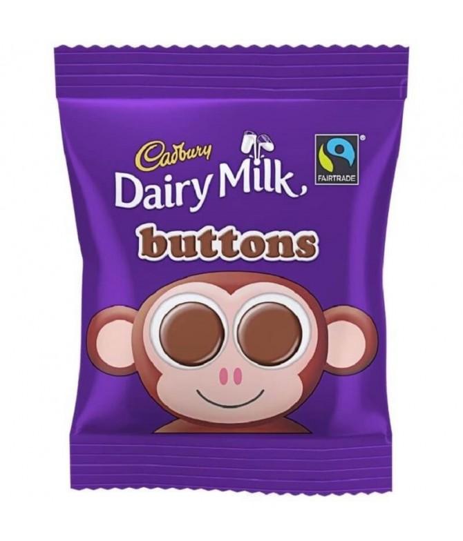Cadbury Dairy Milk Buttons Chocolate 30gr