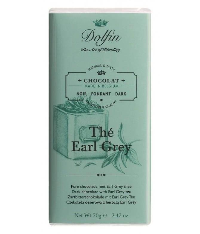 Dolfin Chocolate Negro Earl Grey 70gr T