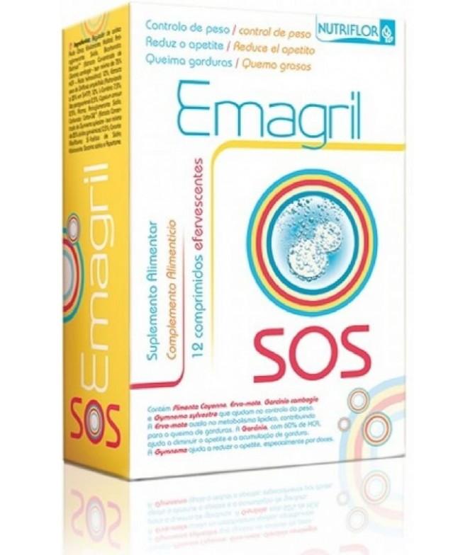 Nutriflor Emagril SOS ADELGAZANTE 12un T