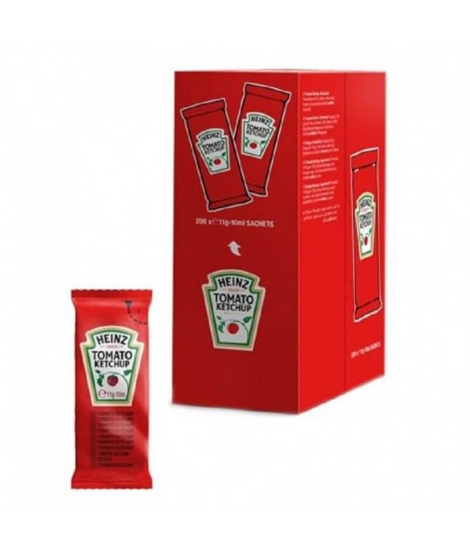 Heinz Ketchup Saquetas 200un