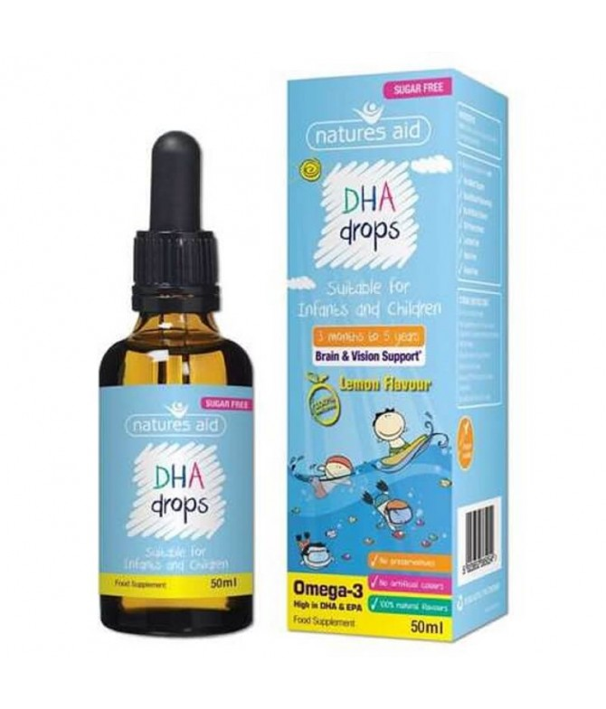 Natures Aid DHA Drops 50ml T