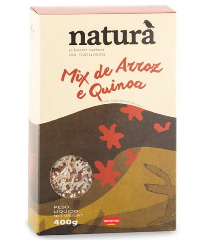Naturà Mix Arroz & Quinoa 400gr T
