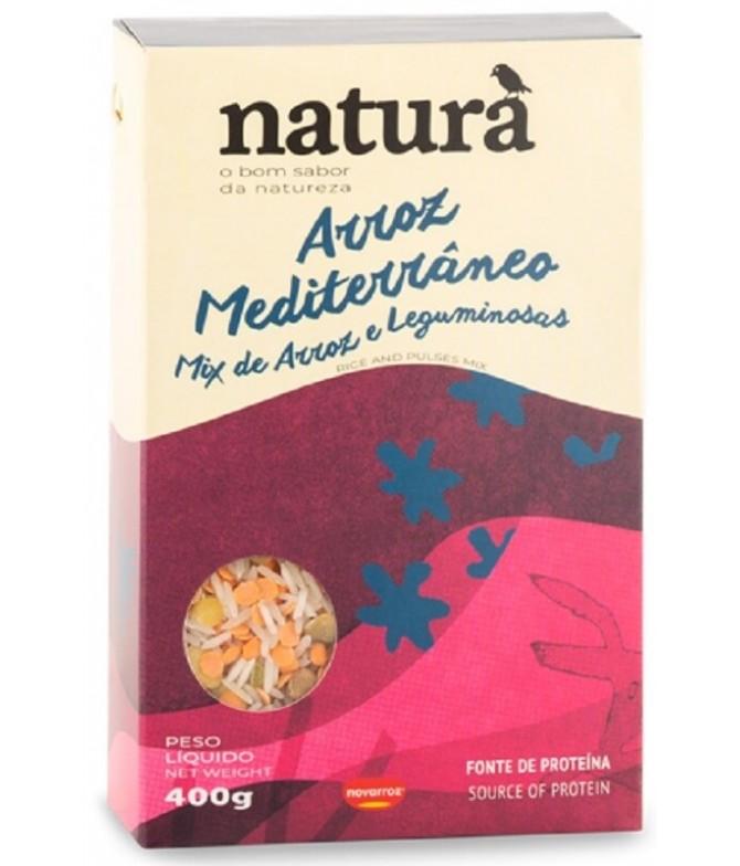 Naturà Arroz Mediterráneo 400gr T