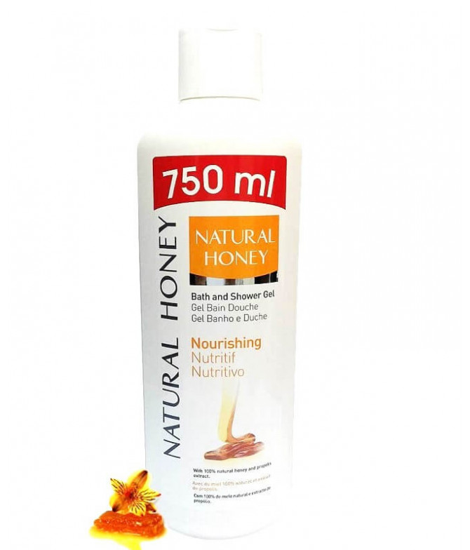 Natural Honey Gel Baño Nutritivo 750ml T
